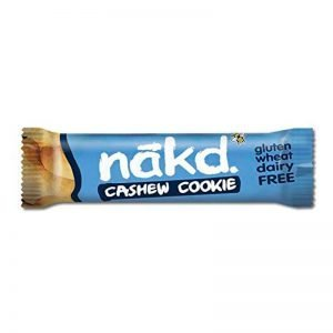 BARRA CASHEW COOKIE 35 GR NAKD