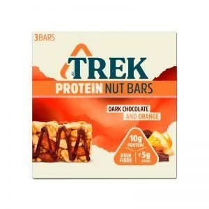 ESTUCHE BARRAS CEREAL DARK CHOCOLATE & ORANGE 3 UN TREK