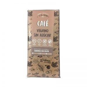 CHOCOLATE BARRA CAFE 80 GR SABORES SIN CULPA