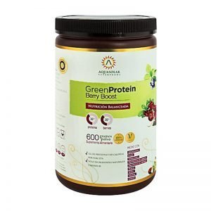 GREEN PROTEIN BERRY 600 GR AQUASOLAR