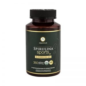 Espirulina Sports Organica en tabletas (360u) Aquasolar