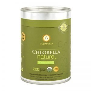 CHLORELLA POLVO NATURE 200 GR AQUASOLAR