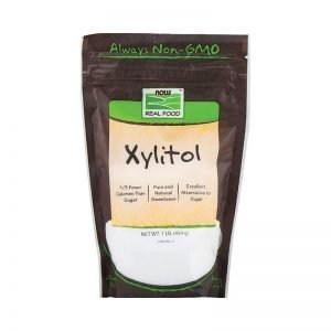 Xylitol polvo 454 gr now