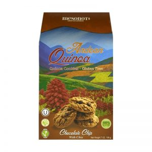 Galletas de quinoa sin gluten - Chocolate Chips Mesonot
